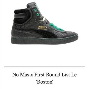 No Mas x First Rounds List Le 'Boston'